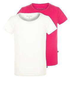 ¡Consigue este tipo de camiseta básica de Minymo ahora! Haz clic para ver los detalles. Envíos gratis a toda España. Minymo 2 PACK Camiseta básica dunkelpink: Minymo 2 PACK Camiseta básica dunkelpink Ropa   | Material exterior: 95% algodón, 5% elastano | Ropa ¡Haz tu pedido   y disfruta de gastos de enví-o gratuitos! (camiseta básica, basics, basic, basico, basica, básico, basicos, casual, clasica, clasicas, clásicas, clásica, básicos, básica, basic t-shirt, playera básica, t-...