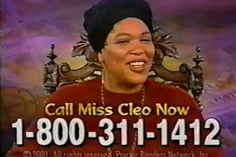 Did anyone ever actually get a psychic reading from Miss Cleo? | 22 Questions From 15 Years Ago With No Answers
