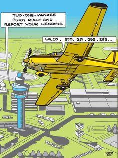 Student pilots . . .