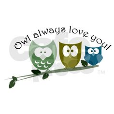 Owl always love you! 3'x5' Area Rug by Owlalwaysloveyoustore