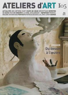 Atelier d'Art de France n° 105 cover © bertrand secret