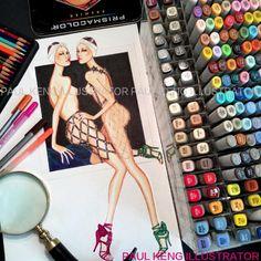 """Zana Bayne #sexy #harness by #zanabayne #illustrator #artist #artwork by…"