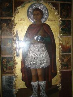 Εις τιμήν του αγίου ενδόξου Μεγαλομάρτυρος Φανουρίου.