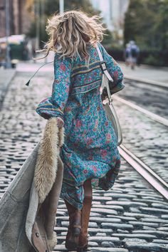 Spell Designs Folk Town Boho Dress