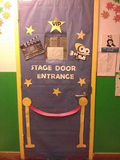 Charmant Hollywood Themed Classroom Door