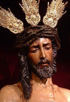 Señor de la Presentacion al Pueblo. Hdad. de San Benito:::::::RAFAES Thank You Jesus, God Jesus, Catholic Art, Religious Art, Jesus Christ Images, Jesus Face, Biblical Art, Holy Week, Jesus Cristo