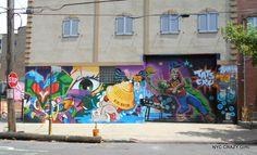 street art bushwick collective new york brooklyn nyccrazygirl New York Street Art, Street Art News, Graffiti, Ville New York, Crazy Girls, New Art, Brooklyn, Photos, Painting