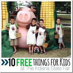 10 free things for kids at the indiana state fair @Indiana State Fair