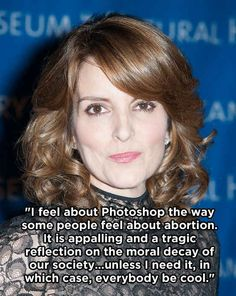 Tina Fey *IS* my spirit animal! 15 Times Tina Fey Got Real With Us