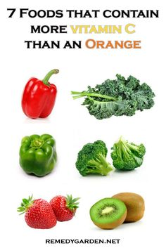 7 Vitamin C foods that contain more vitamin C than an orange! A list of the highest vitamin c foods. Read this vitamin c foods list and learn more about their benefits. Vitamin C Rich Fruits, Vitamin C Foods, Health And Wellbeing, Health And Nutrition, Healthy Eating Tips, Healthy Recipes, Pulp Recipe, Fruits And Veggies, Emma Wiggle
