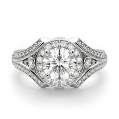 Rhodes Engagement Ring