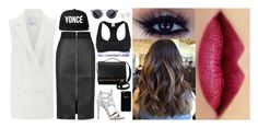 """""""Last day in New York where I went to a meeting with my agent and my mother to discuss with the organizers of my team which would be the presentation of my new album, ending the meeting were next to my team lunch at NoMad restaurant, then heading to the*"""" by ilovefamouspeople ❤ liked on Polyvore"""