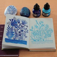 Geninne Z some inspiration for a future linocut work Artist Sketchbook, Sketchbook Pages, Art Journal Pages, Art Journals, Sketchbook Inspiration, Art Blog, Painting & Drawing, Drawing Tips, Art Inspo