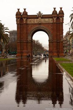 Arc de Triomf, Barcelona, Catalunya