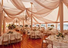 Chiffon D Design At New York Yacht Club Fls By Stoneblossom Wedding Decorations Pinterest And