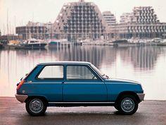 Renault 5 à La Grande-Motte, dans le sud de la France