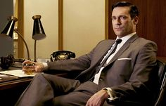 Don Draper returns to TV this Sunday! It's hard to ignore the sexiness of the #MadMen character, played by the handsome #JonHamm. http://news.instyle.com/2012/03/23/jon-hamm-don-draper-mad-men-season-5/
