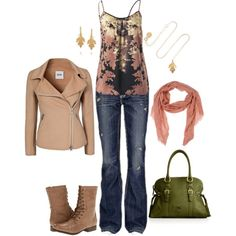 """Fall School Outfit"" by jenn-stern on Polyvore"