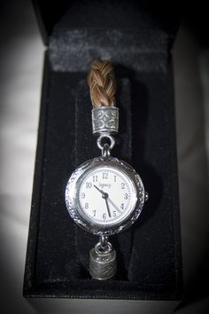 Brown Horse Hair Toggle Clasp Watch Made w Beautiful Authentic Horse Hair   eBay