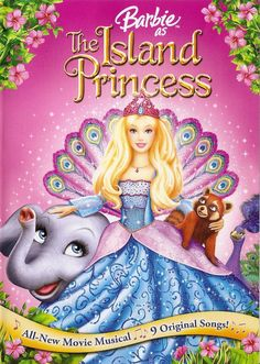Haters gonna hate, but I actually love Barbie movies with a passion. Barbie Island Princess