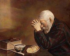 Man praying...