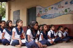 """One.org,s 130 Million campaign says that 130 million girls are being denied an education and asks people to make videos saying """"girls count."""""""