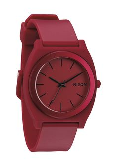 NIXON | The Time Teller P in Dark Red Ano