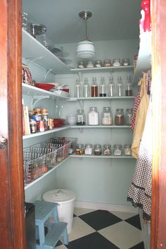 Pantry Extra Lighting On Shelves Maybe Add Outlets And