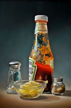mayonaise - Tjalf Sparnaay yummy painting | Tasty, delicious, palatable!