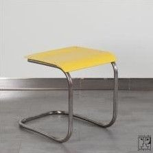 Stool from the thirties by Mart Stam for Thonet Mundus