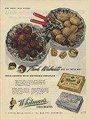 Whitman's Chocolates / Fresh Walnuts...