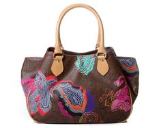 Etro's new pop-paisley bag has brightened up our day! http://www.luxuryfacts.com/index.php/pages/3228/3231
