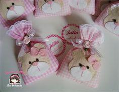 Sonhos de Mel 'ੴ - Crafts em feltro e tecido: °°Sachês de Ursinhas...
