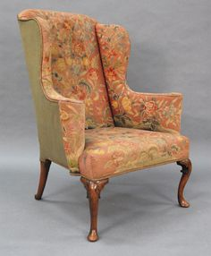 Antique Style  18th Century George III Wingback Chair Upholstering ProjectAntique Style  18th Century George III Wingback Chair Upholstering  . Antique Queen Anne Upholstered Chairs. Home Design Ideas