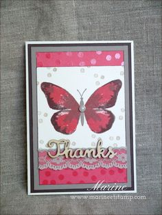 Watercolor Wings Stamp Set by Stampin' Up!