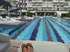 q-spa-resort; At the pool.