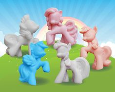 My Little Pony Friendship Soaps<<<where's fluttershy?!