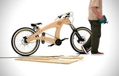 Wooden DIY Bicycles