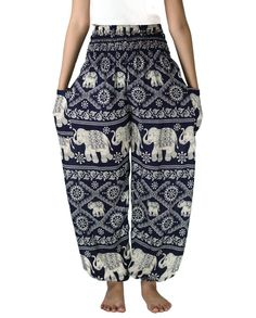 Boho pants /Hippies pants Elephant pants Yoga pants one by NaLuck