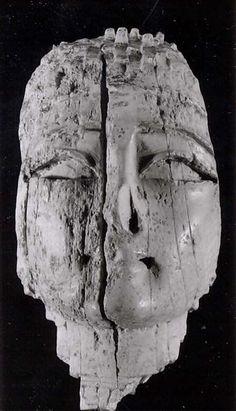 Female head Neo-Assyrian,ca 8th-7th cent.BC Mesopotamia,Nimrud Ivory Metropolitan Museum