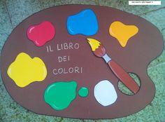 maestra Nella: il libro dei colori Book Crafts, Diy And Crafts, Crafts For Kids, Primary School, Pre School, Social Service Jobs, Montessori, Color Shapes, School Colors