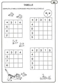 Addition and Subtraction Worksheet Activities Math Addition Worksheets, Kindergarten Math Worksheets, Addition And Subtraction, Math Activities, Have Fun Teaching, Teaching Math, Teaching Geography, First Grade Math, Grade 1