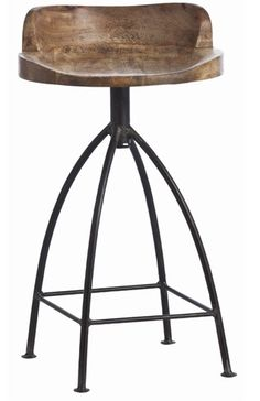 Stool for the bench in the shed...Bar stool from Arteriors