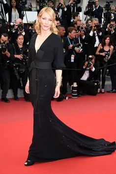 Susan's Fave: Cate Blanchett in Giorgio Armani Privé at #Cannes2015 #CannesFilmFestival #fashion #OOTD #smittenfaves #tickledpink