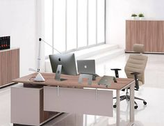 In addition to being fully adjustable in height, the DiiZiGN Laptop Stand also features a smartphone holder.