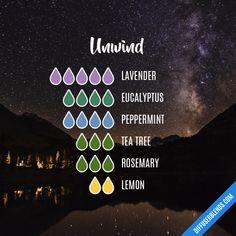 Unwind - Essential Oil Diffuser Blend