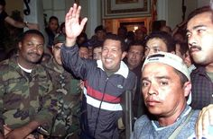 Due to Chavez's commitment to social welfare, his government was the target of a coup attack. After 48 hours, the military aided in his return to the country.