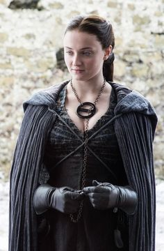 Sophie Turner as Sansa Stark. Game of Thrones Sophie Turner as Sansa Stark. Game of Thrones Game Of Thrones Sansa, Game Of Thrones Poster, Game Of Thrones Facts, Game Of Thrones Funny, Cersei Lannister, Daenerys Targaryen, Sophie Turner, Game Of Thrones Outfits, Game Of Trone