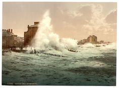 Rough sea, Bognor, England.   Library of Congress, Prints and Photographs Division