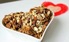 pohanková kaše Quinoa, Cereal, Oatmeal, Cooking Recipes, Breakfast, Polenta, Diet, Bulgur, The Oatmeal